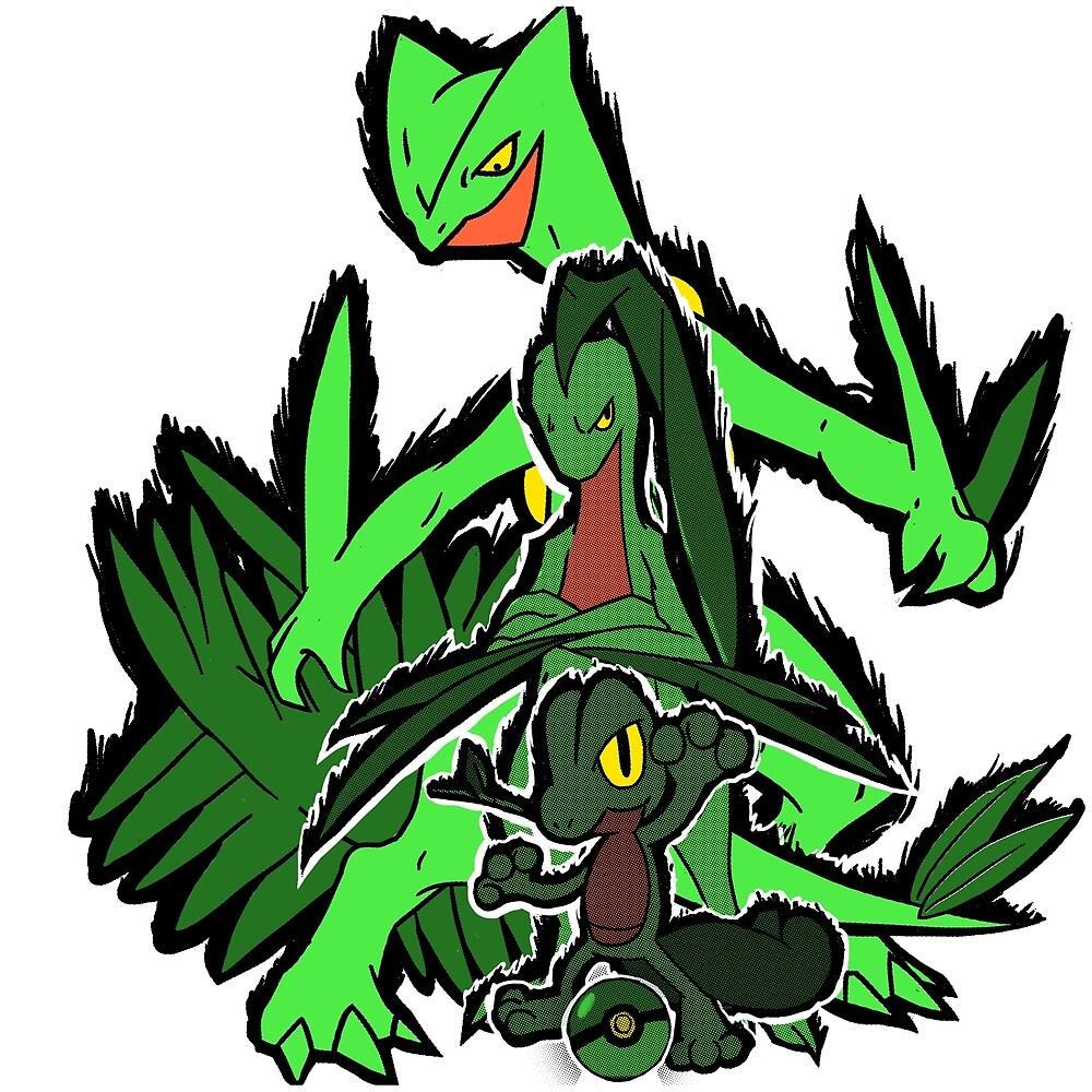 Grass Pokèmon Emerald Power! by Alessandro Antonio Bianco