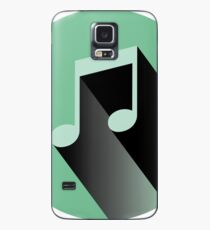 Funda/vinilo para Samsung Galaxy Pegatina de nota musical