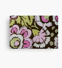 Floral Flower Garden Canvas Print