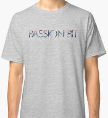 Passion Pit Floral Pattern Classic T-Shirt