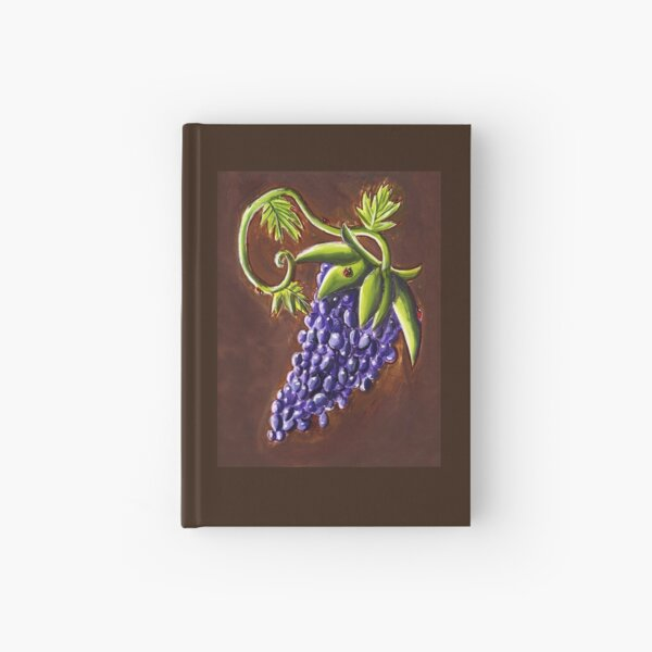 Grapes Hardcover Journal