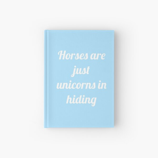 Unicorns in Hiding Hardcover Journal