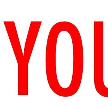 I Am Yours by typogenix