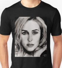 Gillian Anderson Oil T-Shirt