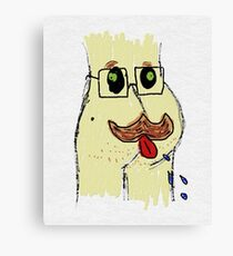 Harry Asstache Canvas Print