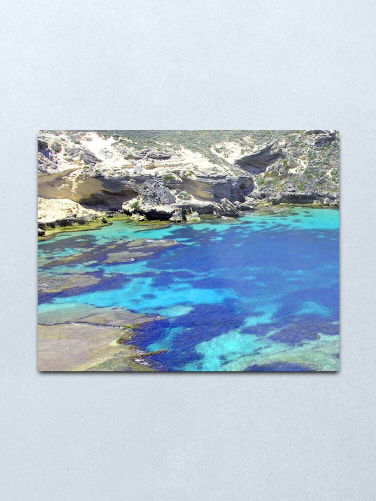 Alternate view of Blue Lagoon Metal Print