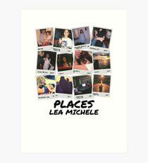 PLACES LM Art Print