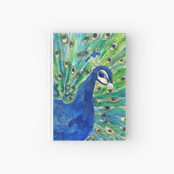 Peacock Hardcover Journal