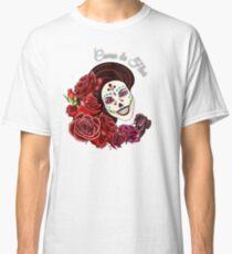 Como la Flor - Selena - Day of the Dead Sugar Skull Classic T-Shirt