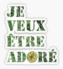 The Stone Roses – I Wanna Be Adored (Je Veux Être Adoré) Sticker