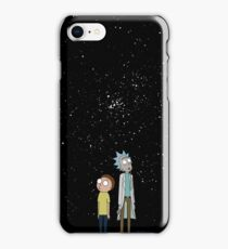 Rick and Morty Stary Night iPhone Case/Skin