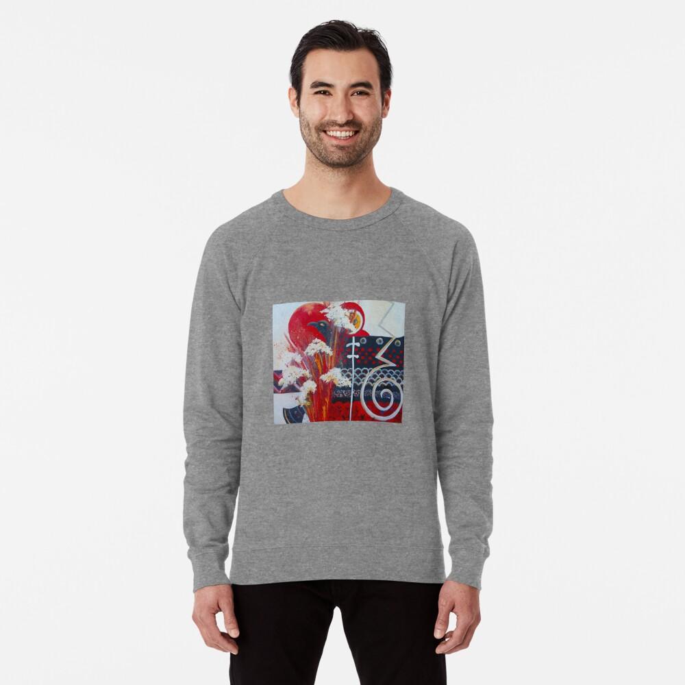 Memories of crete. The Eruption Lightweight Sweatshirt Front