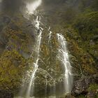 Earland Falls, New Zealand by Kevin McGennan