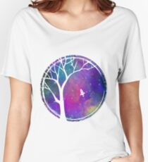 Galaxy Tree Women's Relaxed Fit T-Shirt