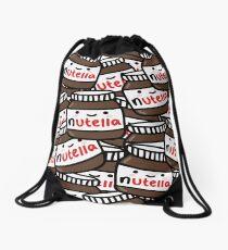 Cute Nutella Pattern! Drawstring Bag