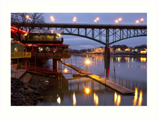 Knoxville Waterfront II by Douglas  Stucky