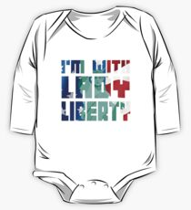 I'm With Lady Liberty  Kids Clothes
