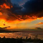 Sunset at Zogeria - Spetses island by Hercules Milas