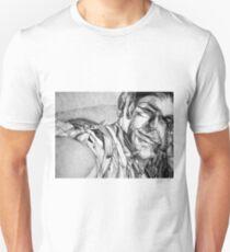 Dreaming light, 2017, 50-70cm, graphite crayon on paper Unisex T-Shirt