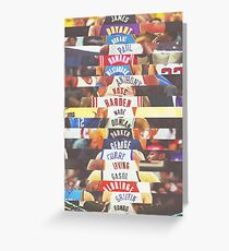 nba jersey by fff Greeting Card