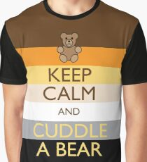 Calm Bear Graphic T-Shirt