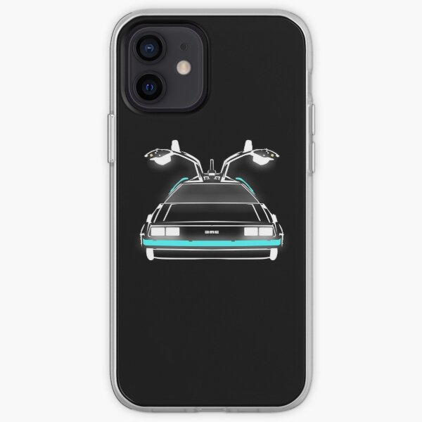 Delorean neon Coque souple iPhone