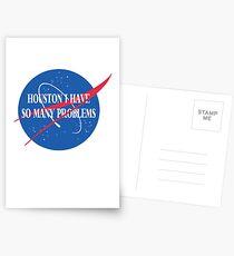 Best Seller: Houston I Have So Many Problems Postcards