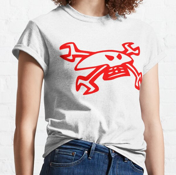 Guy Martin Skull Logo - Red Classic T-Shirt