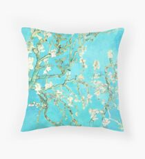 Almond Branches in Bloom Pillow Throw Pillow