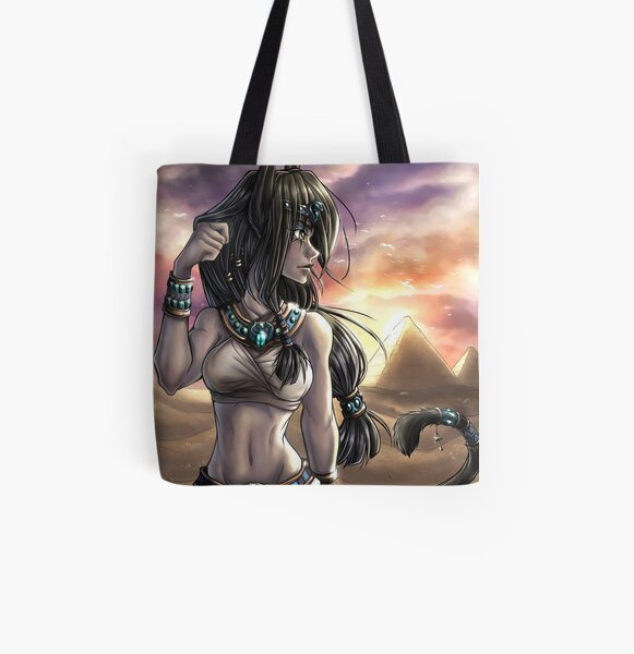 Sahara Sunset All Over Print Tote Bag