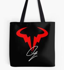 Rafael Nadal Tennis Player Logo Tote Bag