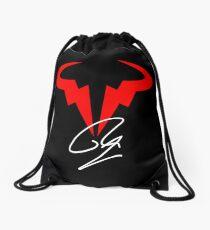 Rafael Nadal Tennis Player Logo Drawstring Bag