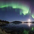 Aurora Panorama by Frank Olsen
