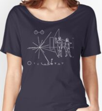 Pioneer Plaque Women's Relaxed Fit T-Shirt