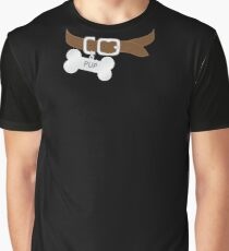 Pup's Dog Collar Graphic T-Shirt