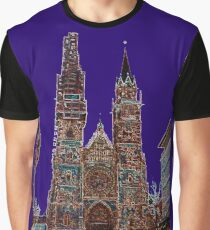 The Cathedral of Saint Lorenz - Nuremberg Graphic T-Shirt