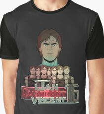 Jan Quadrant 16 Michael Vincent Graphic T-Shirt