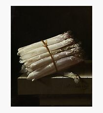 Adriaen Coorte - Still Life With Asparagus, 1697 Photographic Print