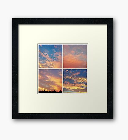 southern low II Framed Print