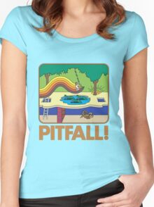 Pitfall 80s Computer Game Women's Tee