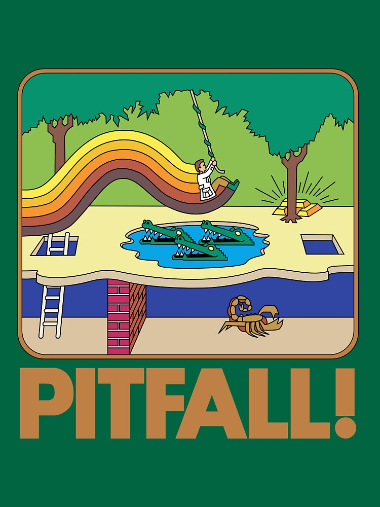 TShirtGifter presents: Pitfall! 2600 Box | Unisex T-Shirt