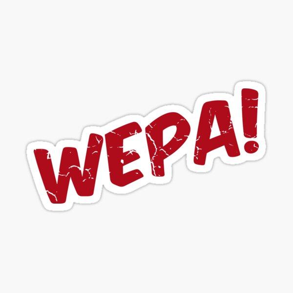 Wepa! Sticker