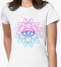 Rainbow Eye Mandala T-Shirt
