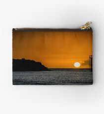 Sunset and the sea Studio Pouch