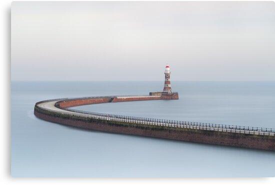Roker Pier Long Exposure by Phil Buckle