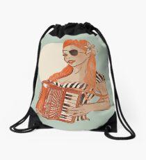 Akkordeongirl Drawstring Bag