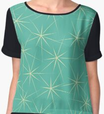 Tracery with stars Chiffon Top