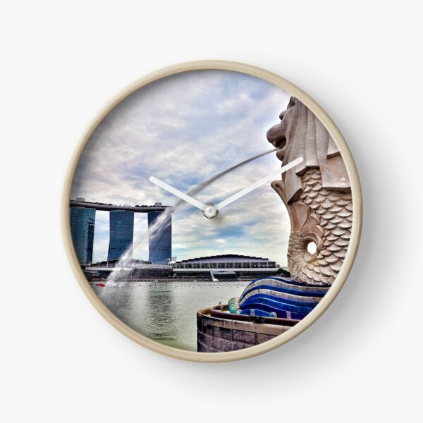 Merlion Clock