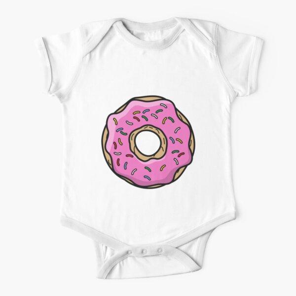 Donut Short Sleeve Baby One-Piece