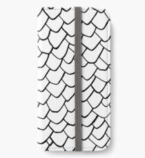 Dragon Scales Clear iPhone Wallet